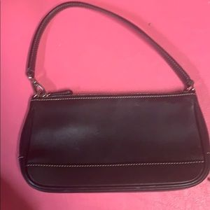 leather vintage 90s coach shoulder bag